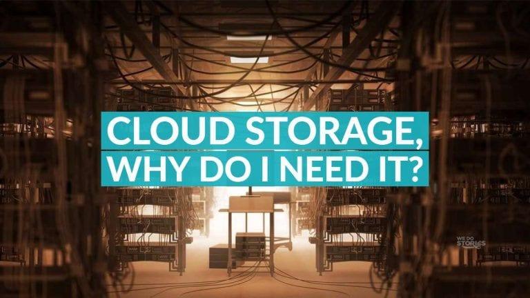 Cloud storage why do I need it