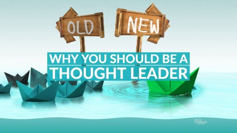 Why you should be a thought leader