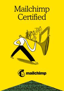 Mailchimp Certification Badge